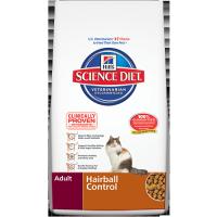 Hills adult feline hairball