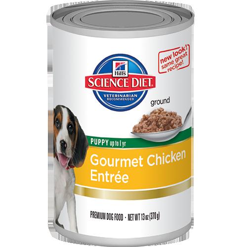 Puppy Gourmet Chicken Entrée