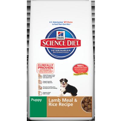 Puppy Lamb Meal & Rice Recipe