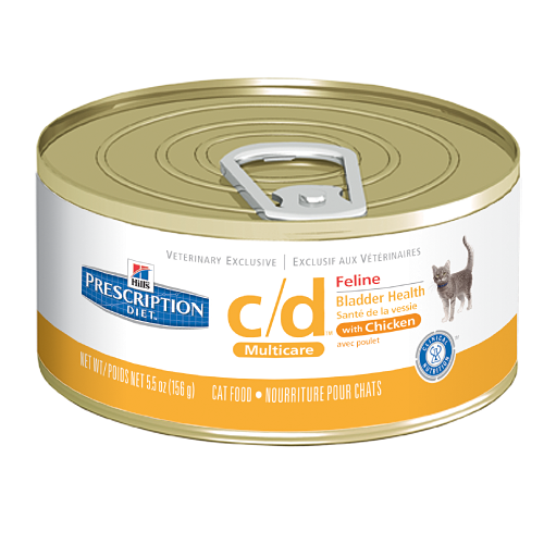 Hill's Feline C/d Multicare Chicken 156g Can