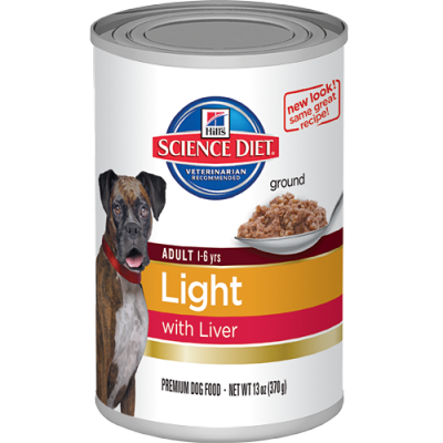 light with liver canned