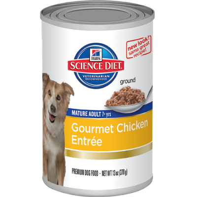 mature chicken canned